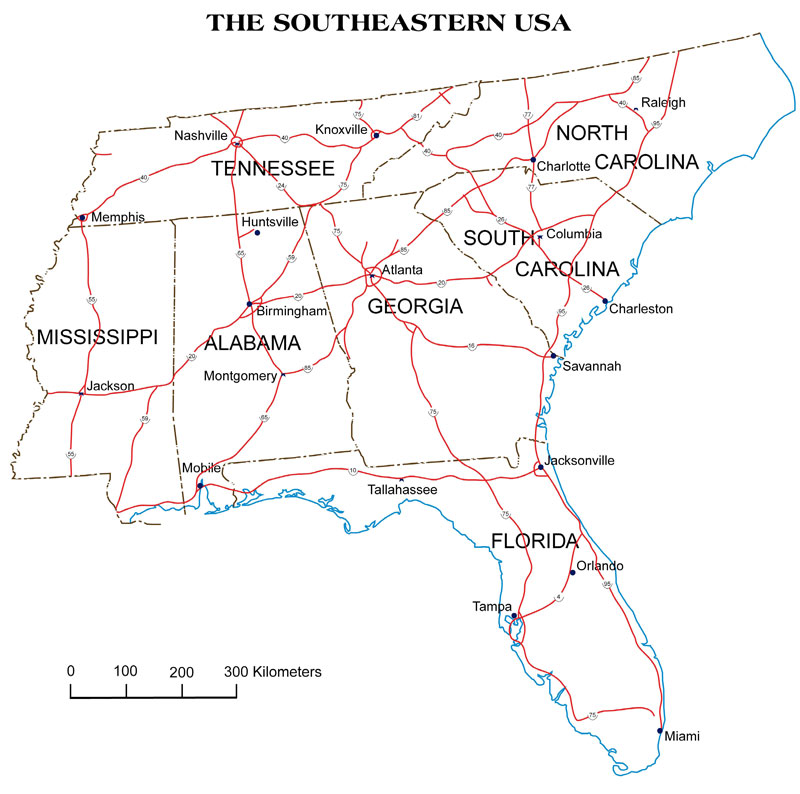 SOUTHBROOK TECHNOLOGIES Map
